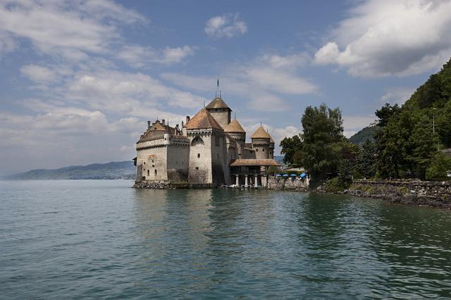 Provence   Alpen  134 Montreux, Kasteel van Chillon